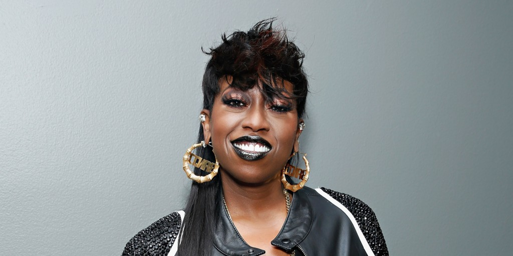 NEW YORK, NY - AUGUST 14:  Recording artist Missy Elliott poses backstage at BET's '106 and Park' at BET Studios on August 14, 2013 in New York City.  (Photo by Cindy Ord/BET/Getty Images for BET)
